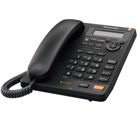 Panasonic KX-TS620EXB Telephone Answering Machine Caller ID, IP Telephony, Best Buy Cyprus, Home Phones, KX-TS620EXB Panasonic
