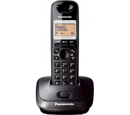 Panasonic KX-TG2511FX Cordless Telephone DECT Caller ID, IP Telephony, Best Buy Cyprus, Home Phones, KX-TG2511FXT #Panasonic