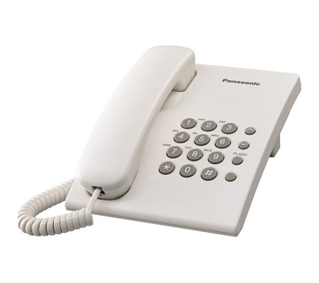 Panasonic KX-TS500EX Corded Telephone White