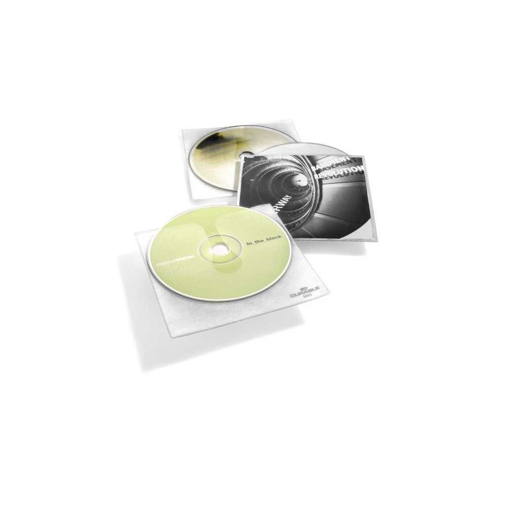 Durable CD box 1 CD/DVD/Blu-Ray PP Transparent 10 pc(s) 520219, Workplace & Organisation Products, Best Buy Cyprus, Multimedia