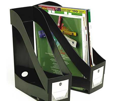Rexel EcoDesk Magazine Rack Black, Workplace & Organisation Products, Best Buy Cyprus, Magazines Files, REX-2102007 Rexel,