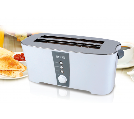 Sogo TOS-SS-5450 4 Slice Long Toaster, Small Appliances, Best Buy Cyprus, Toasters & Toaster Ovens, 8425490017307 Sogo,