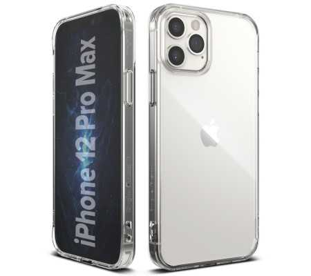 Ringke Fusion Apple iPhone 12 Pro Max Clear, Phones & Wearables, Best Buy Cyprus, Phone Cases, 8809758101029 RINGKE