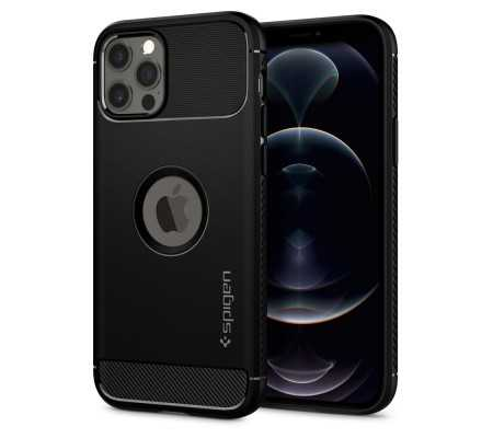Spigen Rugged Armor Apple iPhone 12/12 Pro Matte Black