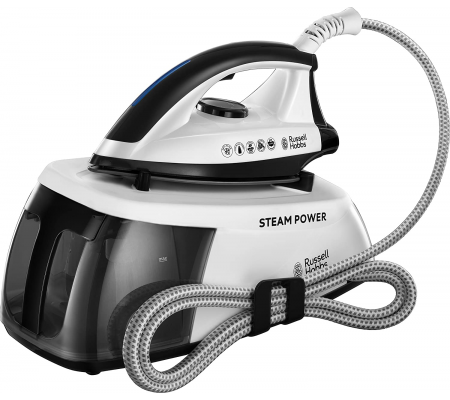 Russell Hobbs 24420-56 steam ironing station 1.3L Stainless Steel soleplate, Ironing, Best Buy Cyprus, Steam Generator Irons