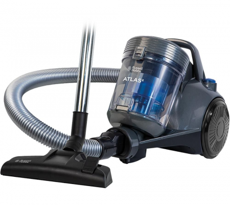 Russell Hobbs Atlas2 RHCV3101 Cylinder Bagless Vacuum Cleaner - Spectrum Grey & Blue, Vacuums & Floor Care, Best Buy Cyprus