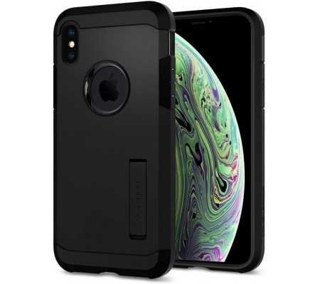 Spigen Tough Armor Designed for iPhone Xs Case (2018) / Designed for iPhone X Case (2017) - Matte Black, Phones & Wearables