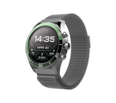 Forever Smartwatch AMOLED ICON AW-100 Green, Phones & Wearables, Best Buy Cyprus, Smart Watches, 5900495828415 Forever