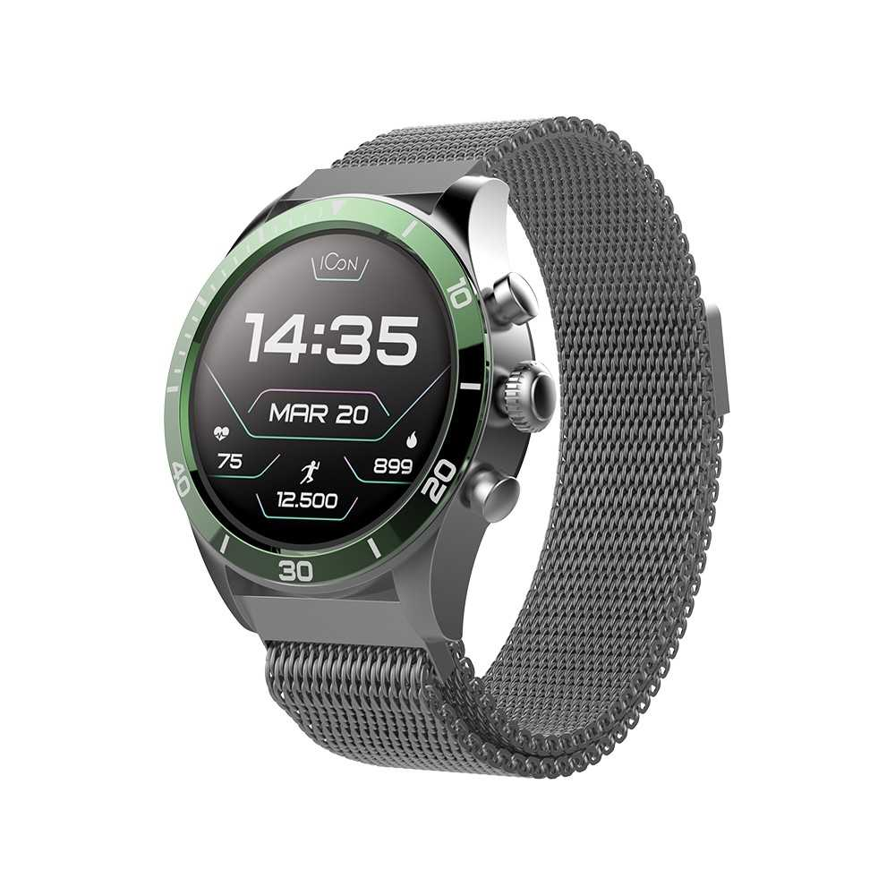 Forever Smartwatch AMOLED ICON AW-100 Green