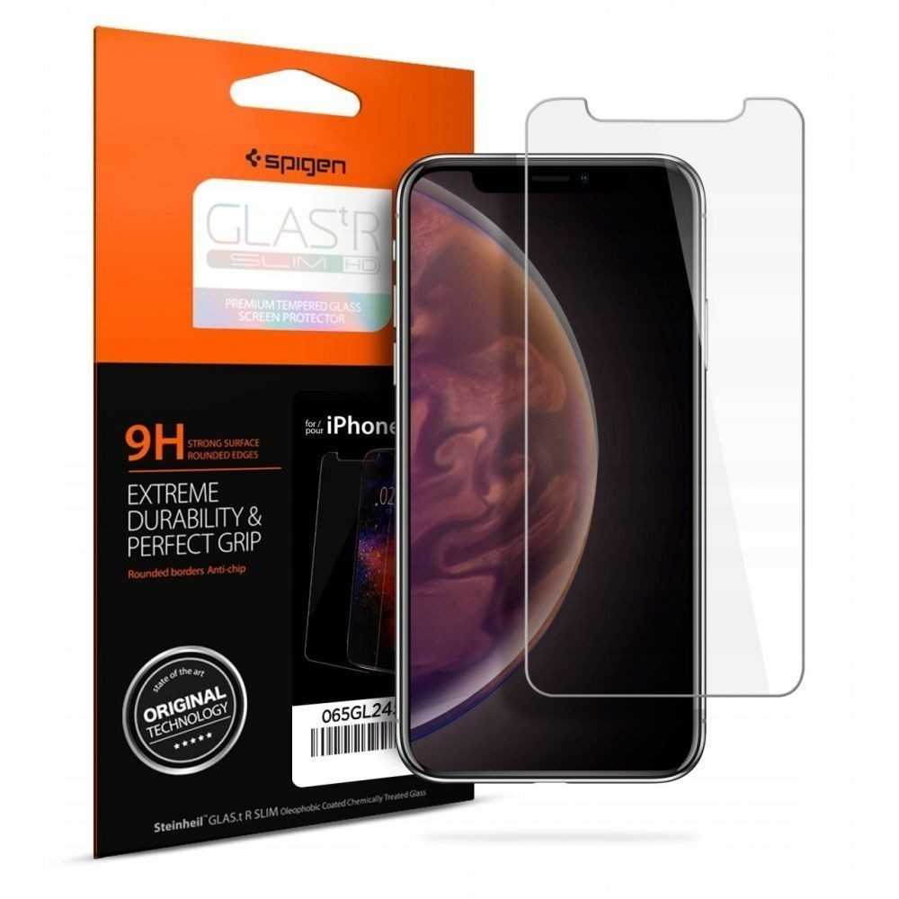 Spigen GLAS.tR Slim Case Friendly iPhone 11 Pro Max/XS Max Clear