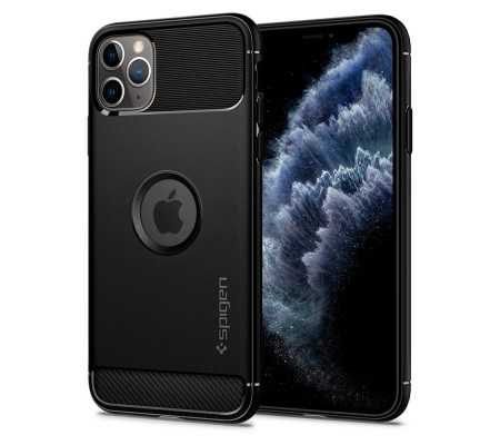 Spigen Rugged Armor Apple iPhone 11 Pro Max Black, Phones & Wearables, Best Buy Cyprus, Phone Cases, SPN430BLK #SPIGEN