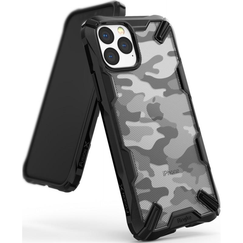 Ringke Fusion-X Design Apple iPhone 11 Pro Max Camo Black
