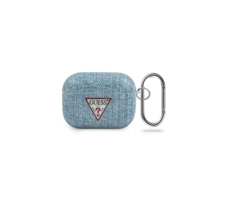Guess GUACAPTPUJULLB Apple AirPods Pro cover light blue Jeans Collection