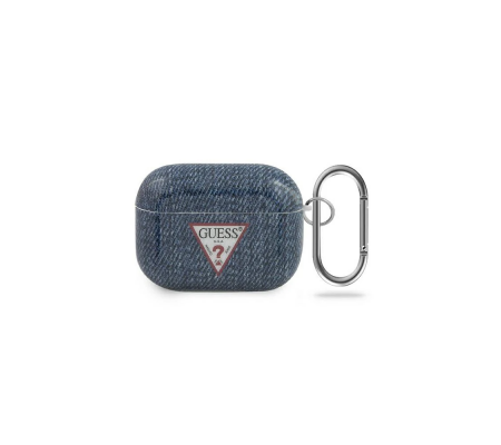 Guess GUACAPTPUJULDB Apple AirPods Pro cover dark blue Jeans Collection