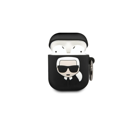 Karl Lagerfeld KLACCSILKHBK Apple AirPods cover black Silicone Ikonik, Phone Cases, Best Buy Cyprus, Apple Cases, 3700740463789