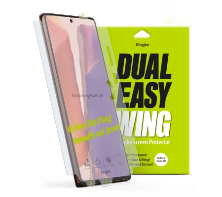 Ringke Dual Easy Wing Full Cover Samsung Galaxy Note 20 [2 PACK]