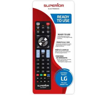 Superior Replacement Remote Control for LG Smart Televisions