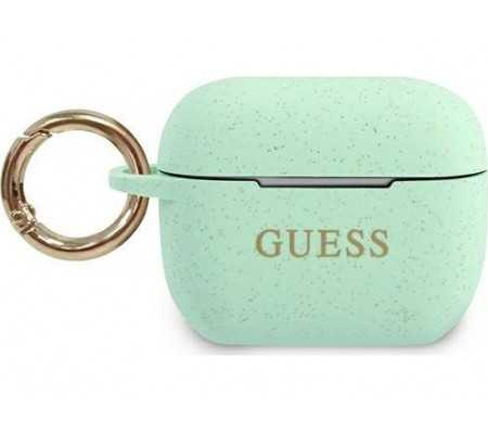 Guess GUACAPSILGLGN Apple AirPods Pro cover green Silicone Glitter, Phone Cases, Best Buy Cyprus, Apple Cases, 3700740494394