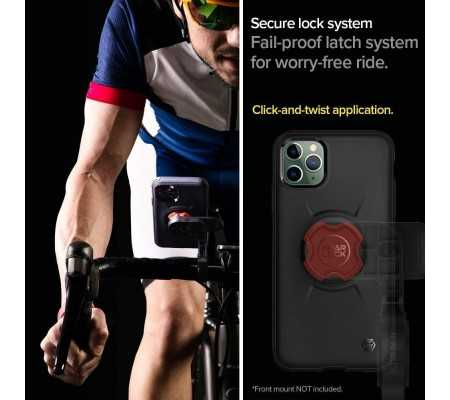 Spigen Gearlock GCF111 Bike Mount Case Apple iPhone 11 Pro Max Black