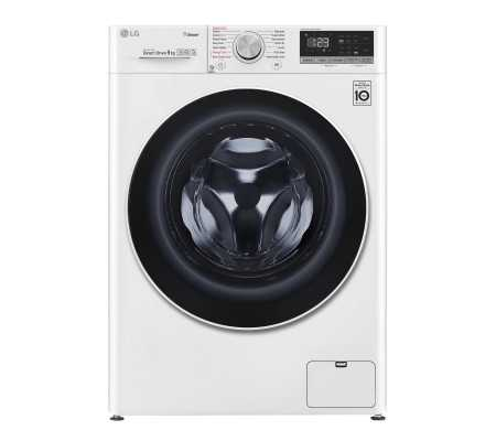 LG F4WV509S0 washing machine Freestanding Front-load 9 kg 1400 RPM White