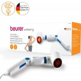 Beurer MG40 Infrared Massager Soothing vibration massage for tired legs and back pain
