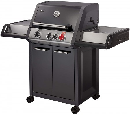 Enders® Gas Grill Monroe Black Pro 3 K Turbo