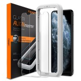 Spigen GLAS.tR Slim AlignMaster Apple iPhone 11 Pro Case Friendly 2 Pack
