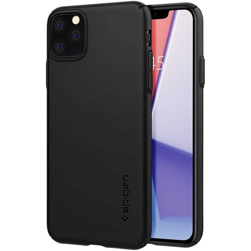 Spigen Thin Fit Air Apple iPhone 11 Pro Black, Phones & Wearables, Best Buy Cyprus, Phone Cases, SPN470BLK #SPIGEN
