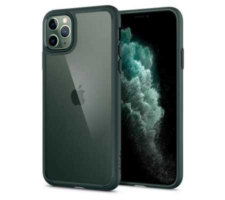 Spigen Ultra Hybrid Apple iPhone 11 Pro Midnight Green,  #bestbuycyprus, Showcase your phone in a crystal clear frame with