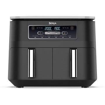 Ninja Foodi Dual Zone Air Fryer AF300EU,  #bestbuycyprus, The air fryer that cooks 2 foods, 2 ways, and finishes at the same