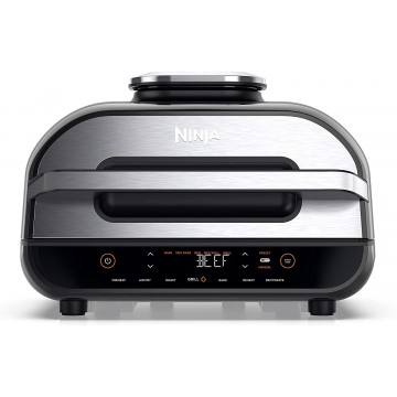 Ninja Foodi MAX Health Grill & Air Fryer AG551EU,  #bestbuycyprus, The large capacity grill that precisely cooks with perfect