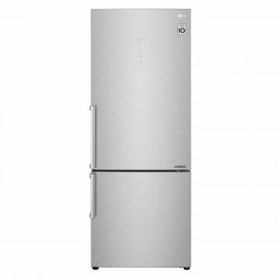 LG GBB569NSAFB fridge freezer Freestanding Inox 451L 5YW
