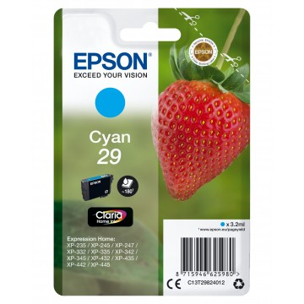 Epson Strawberry Singlepack Cyan 29 Claria Home Ink