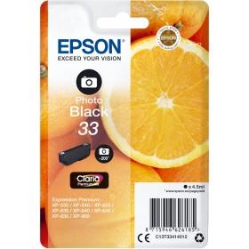 Epson 33 Original Ink Cartridge C13T33414012 Photo Black