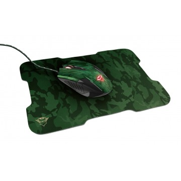 Trust GXT 781 Rixa Camo Gaming Mouse & Mouse Pad, #bestbuycyprus