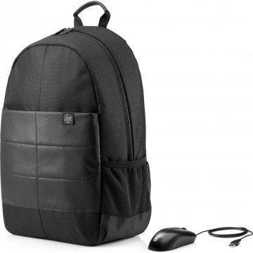"""HP 15.6"""" Classic Backpack and Briefcase"""