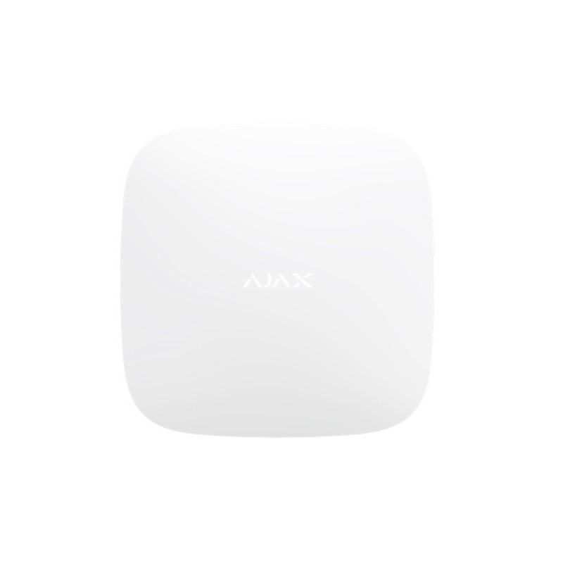 AJAX TCP-IP/GSM Alarm Hub2 (Supports PIR With Video Verification) White,  #bestbuycyprus, Hub 2 manages all the Ajax devices in