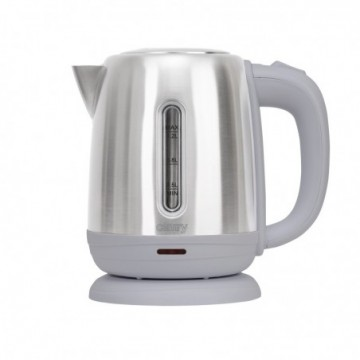 Camry CR1278 Stainless Steel Kettle 1.2L 1630W,  #bestbuycyprus, Classic 1,2-litre electric kettle is useful in every kitchen
