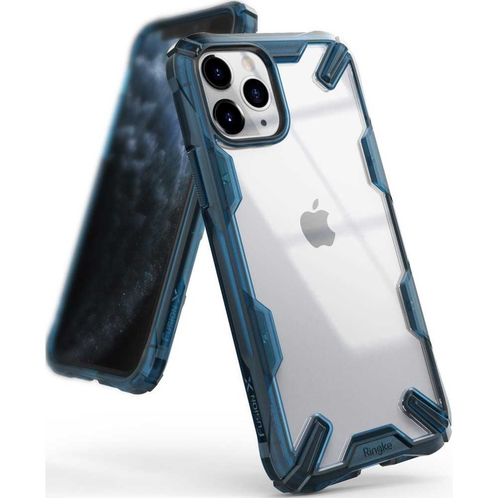 Ringke Fusion-X Apple iPhone 11 Pro Space Blue