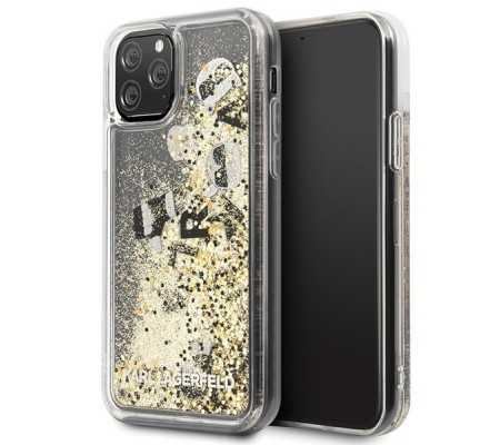Karl Lagerfeld KLHCN58ROGO iPhone 11 Pro black & gold hard case Glitter, Phones & Wearables, Best Buy Cyprus, Phone Cases