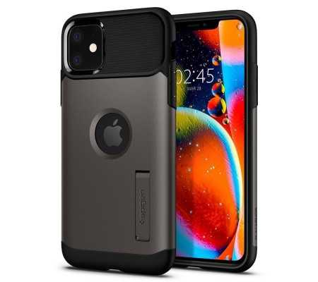 Spigen Slim Armor Apple iPhone 11 Gunmetal, Phones & Wearables, Best Buy Cyprus, Phone Cases, SPN799GNM #SPIGEN   #bestbuycyprus