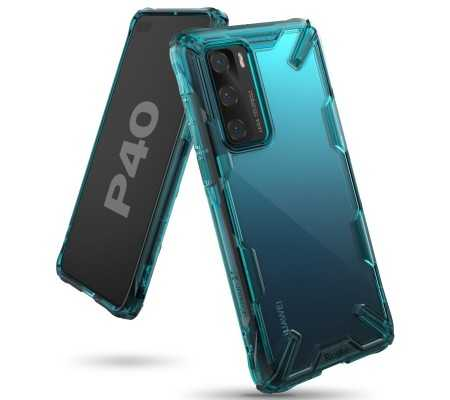 Ringke Fusion-X Huawei P40 Turquoise Green, Phones & Wearables, Best Buy Cyprus, Phone Cases, RGK1143GRN #RINGKE
