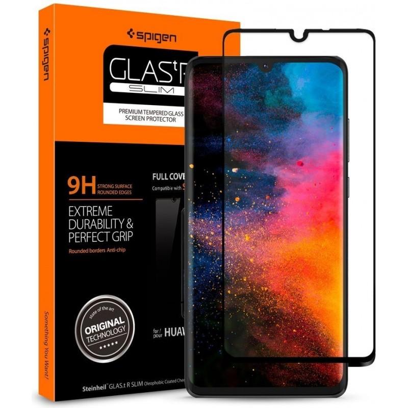 Spigen GLAS.tR Slim Huawei P30 Full Cover Case Friendly