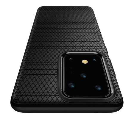 Spigen Liquid Air Galaxy S20 Ultra Matte Black, Phones & Wearables, Best Buy Cyprus, Phone Cases, SPN544BLK #SPIGEN