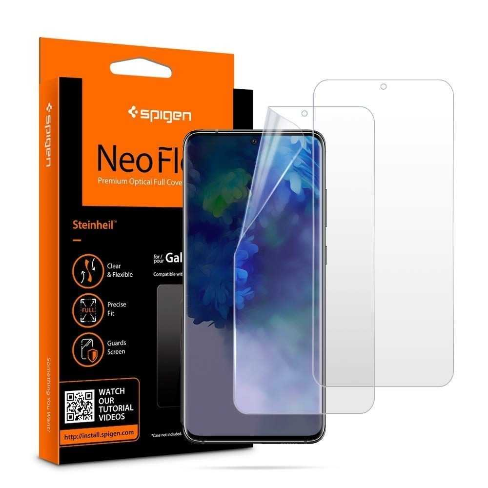 Spigen Neo Flex HD Galaxy S20+ Plus [2 PACK]