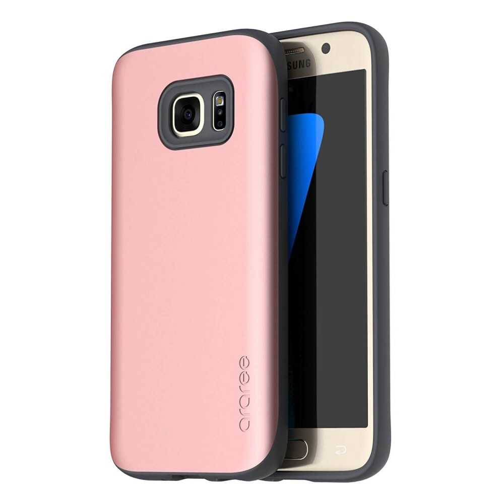 Araree Galaxy S7 Case Amy Hard Back Case Rose Gold, Phones & Wearables, Best Buy Cyprus, Phone Cases, AR20-00141AOK #Araree