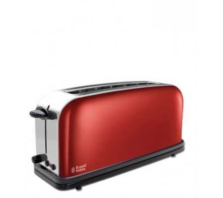 Russell Hobbs 21391-56 Flame Red Long Slot Toaster, Best Buy Cyprus, Toasters