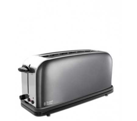 Russell Hobbs Storm Grey 2slice(s) Grey,Stainless steel toaster