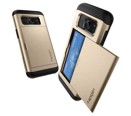 Spigen Galaxy S7 Edge Case Slim Armor CS Gold, Phone Cases, Best Buy Cyprus, Samsung Cases, 556CS20256OK #SPIGEN