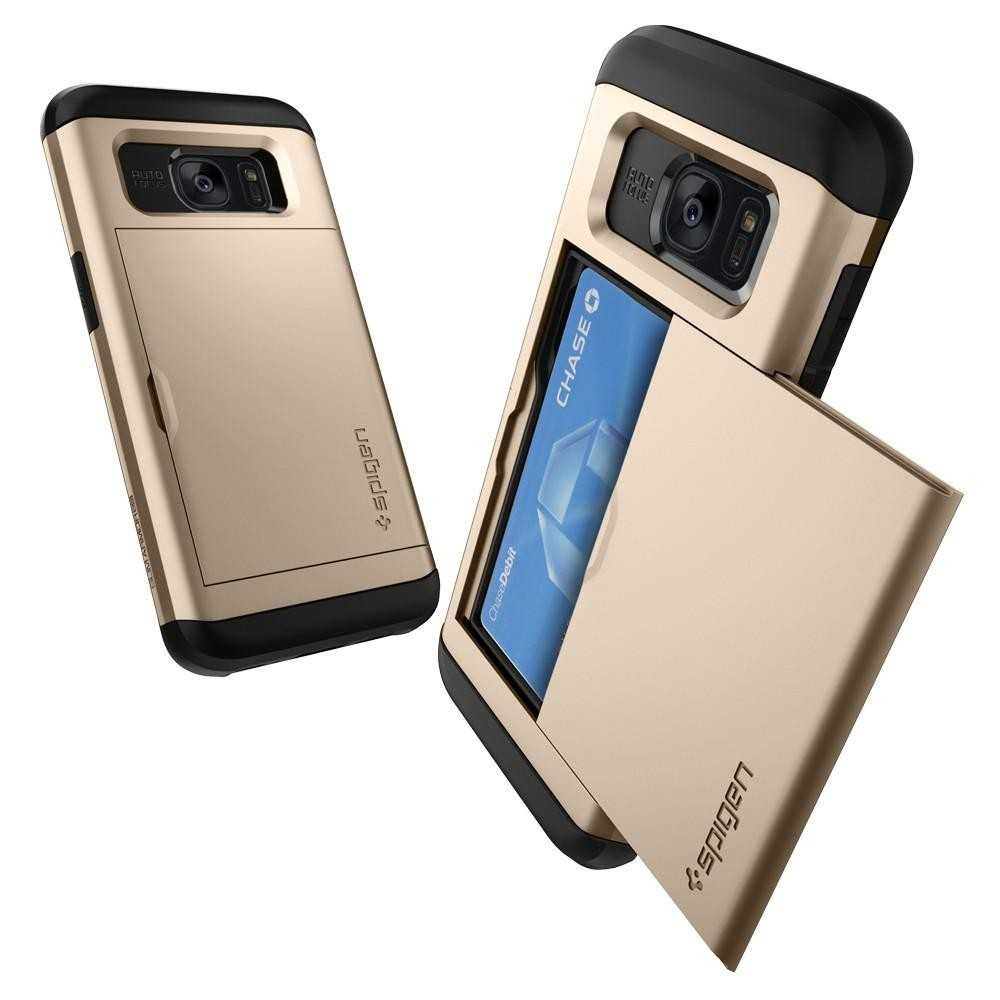 Spigen Galaxy S7 Edge Case Slim Armor CS Gold, Best Buy Cyprus, Galaxy S7 Edge
